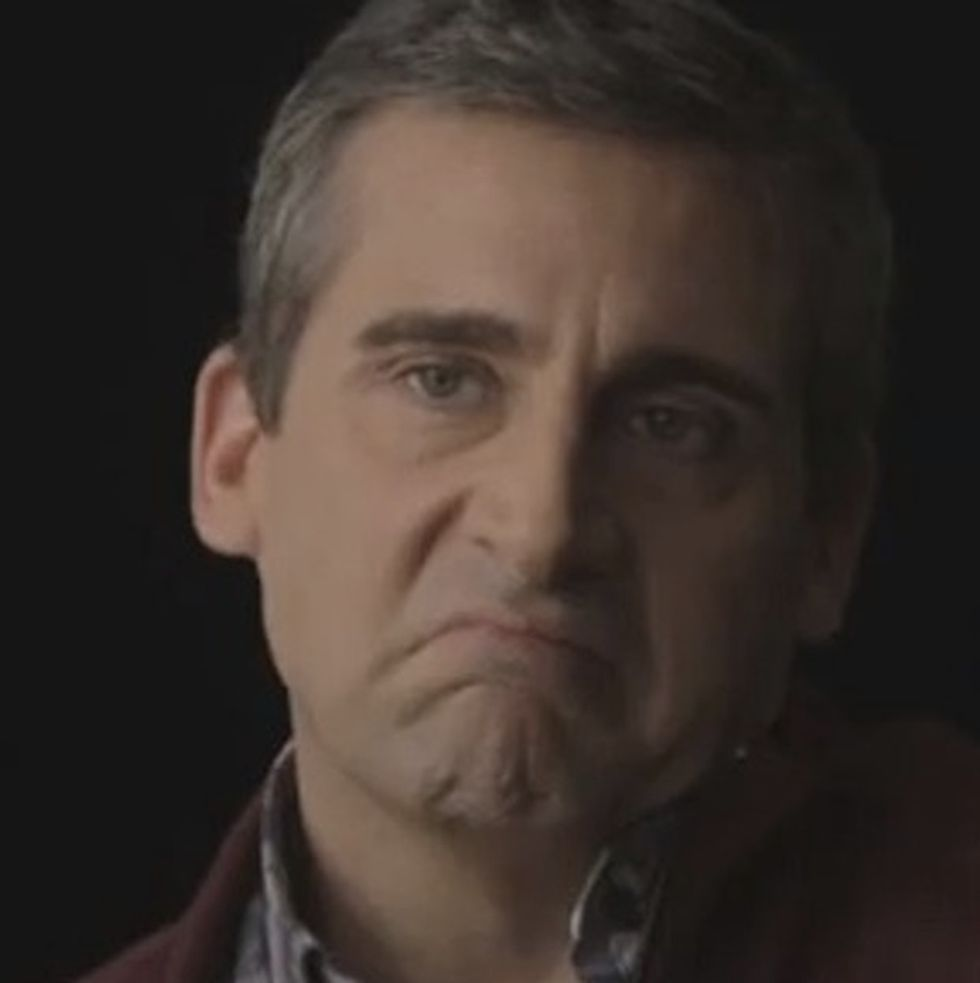 Steve Carell Wants To Slap You In The Face. What Did You Do?!