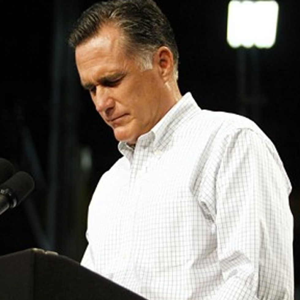 BREAKING: Romney Struck With Tragic Affliction. Obama Suspends Campaign To Help Find A Cure?