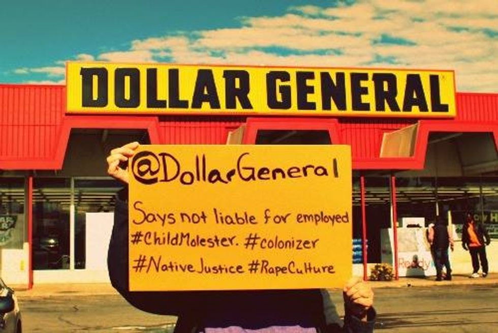 Why protesters at the Supreme Court want you to boycott Dollar General.