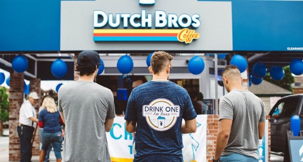 Dutch Bros Coffee hopes to raise $1.5 million for ALS research on Drink One for Dane Day.