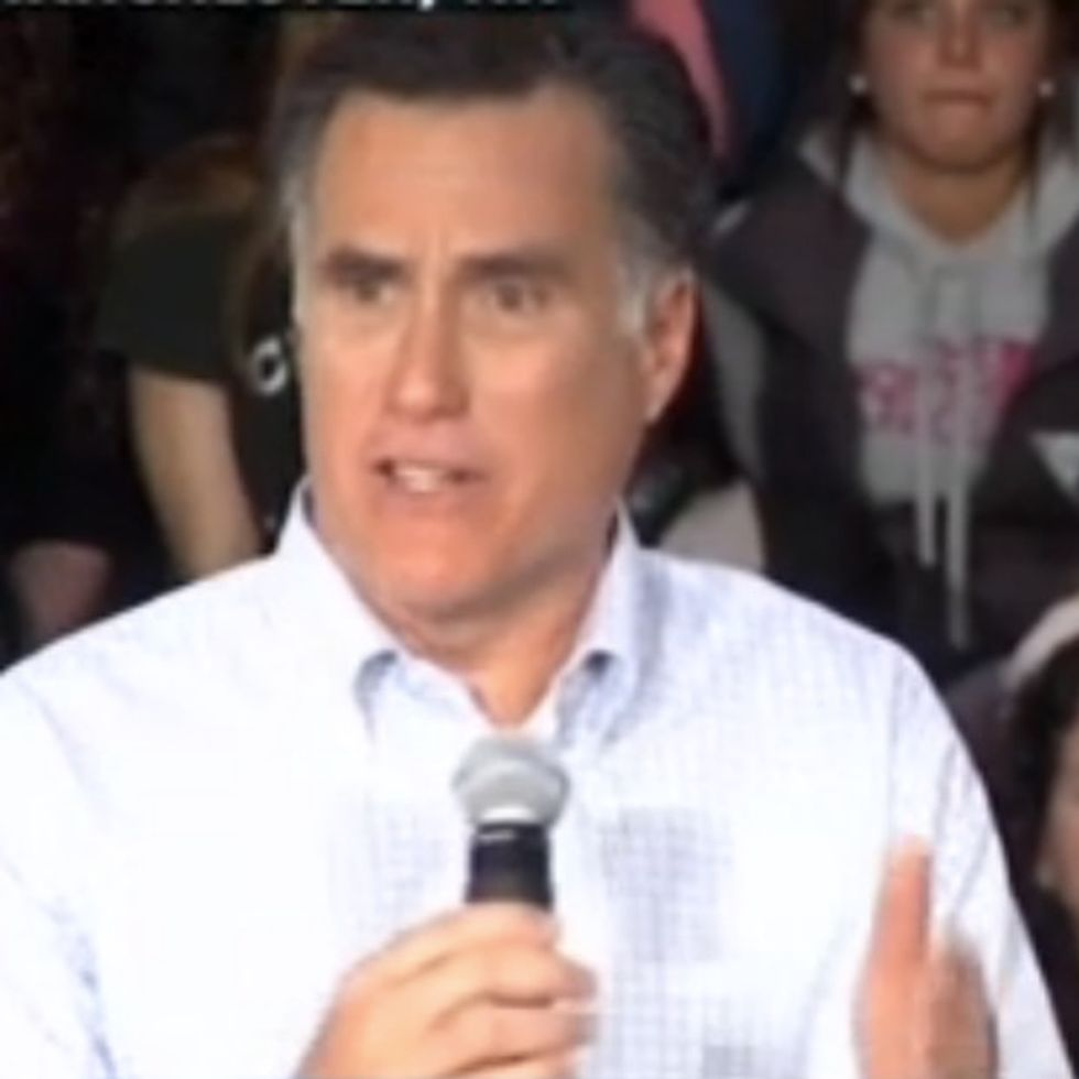 VIDEO: Did He Just Say That?!? Romney Insults His Own Wife Without Knowing It