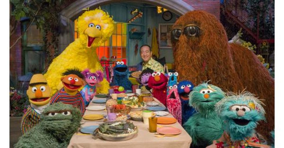 The Sesame Street gang has a great message for kids who are already screen addicts.