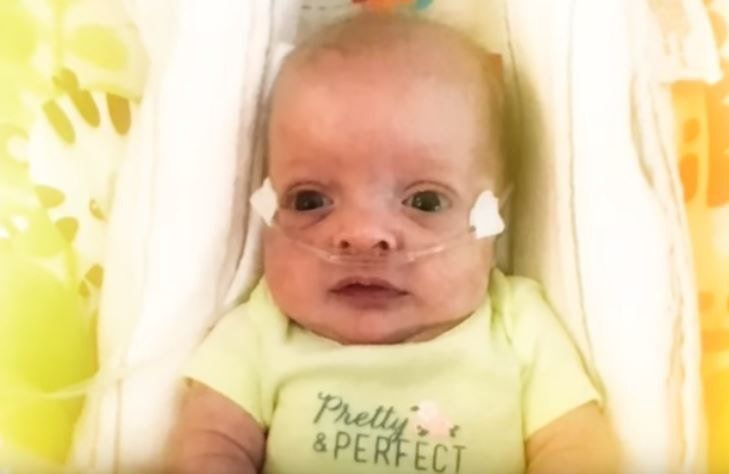 For five months, no one visited this premature baby  So her