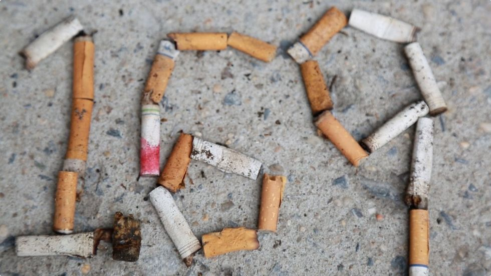 Cigarette butts are gross and smelly, and once they're on the street, they don't go away. Until now.