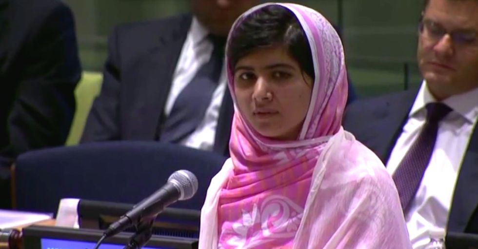 We know Malala won the Nobel Peace Prize. Do you know what she's done to girls around the world?