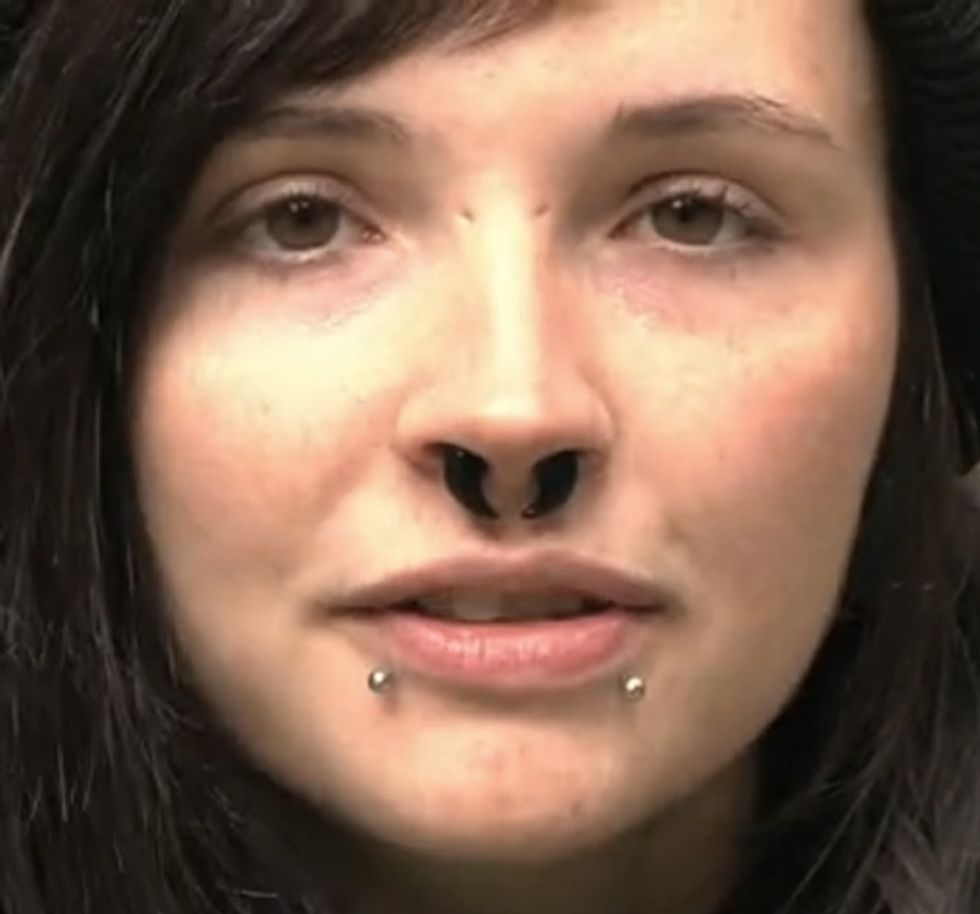 Is It Better To Be A Stool Pigeon Or To Rot In Jail? Ask This 24-Year-Old Gal.