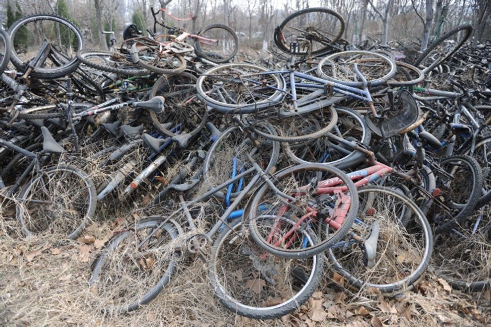 See China's infamous bicycle graveyards and learn 7 excellent ways bikes can be recycled.