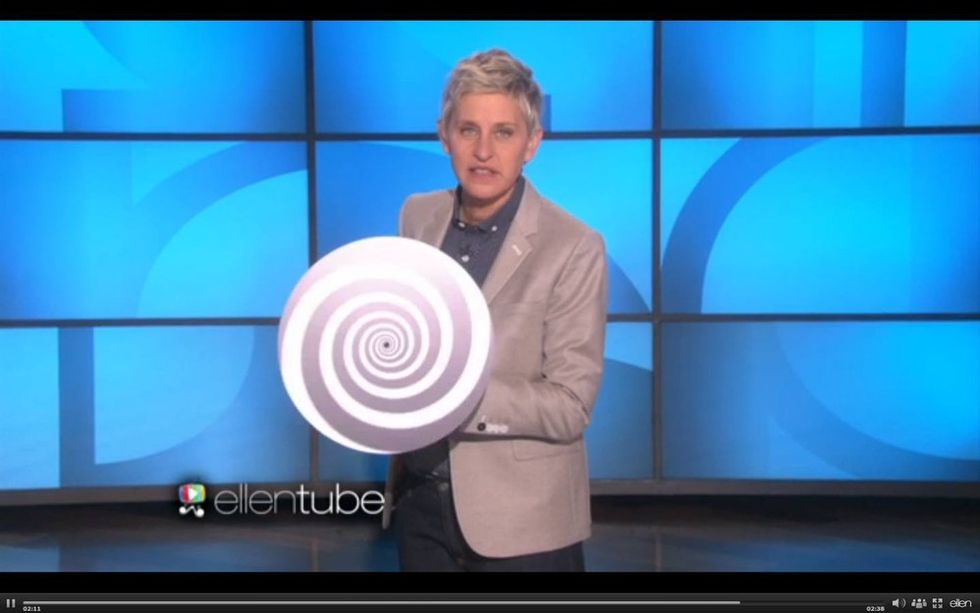 A man deeply insults Ellen's show *and* her marriage. Now watch her fire back.