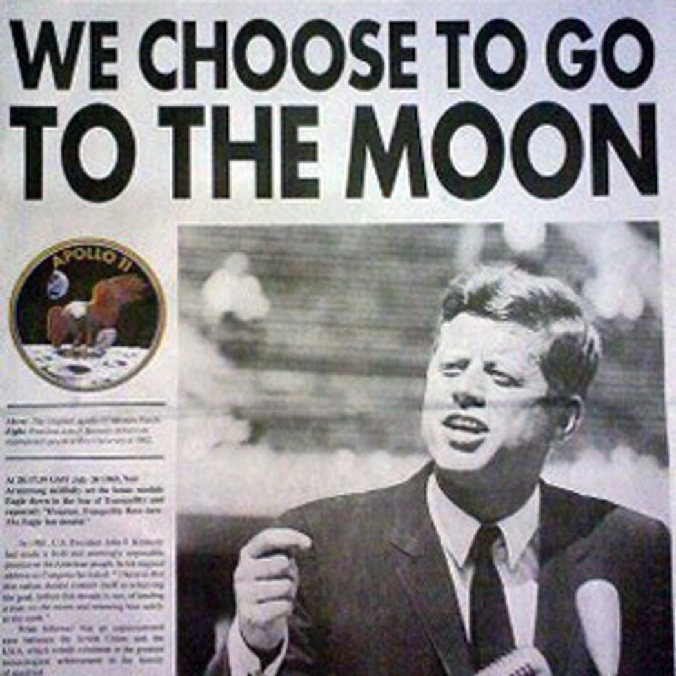 We Chose To Go To The Moon 50 Years Ago Today
