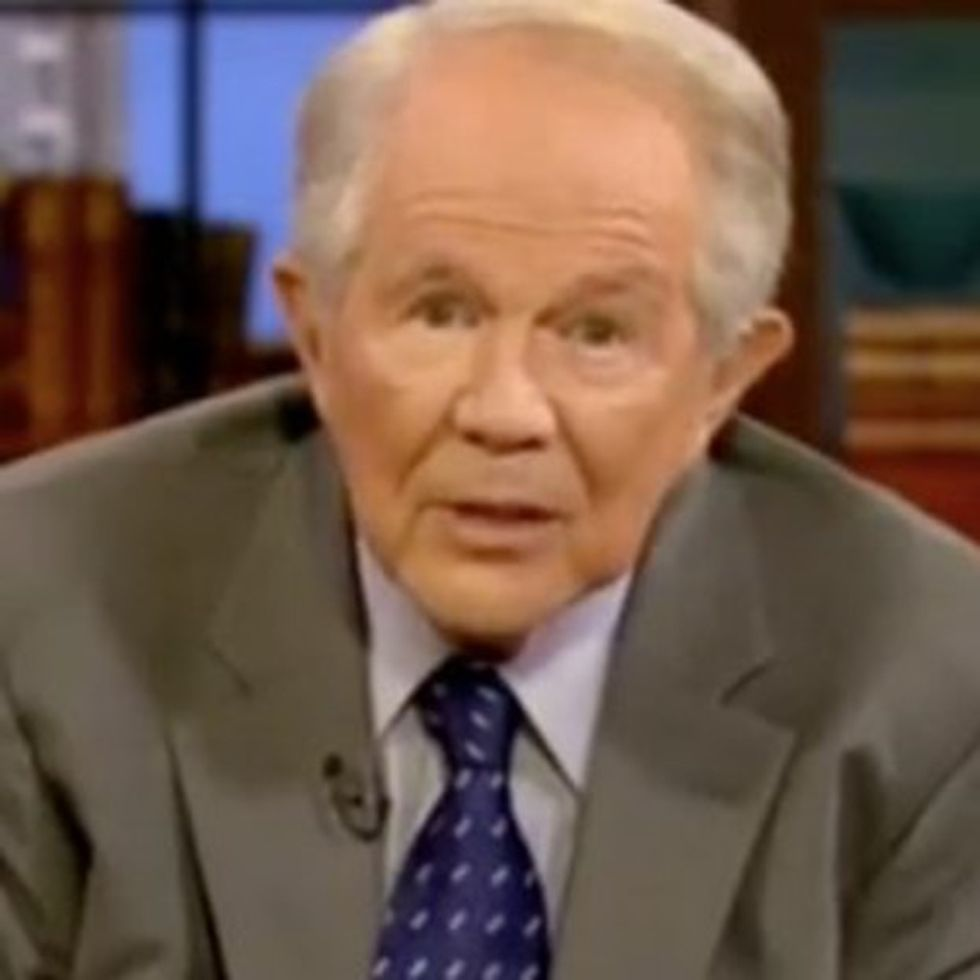 Pat Robertson Casually Suggests Beating Your Wife, Remains Classless While Doing So