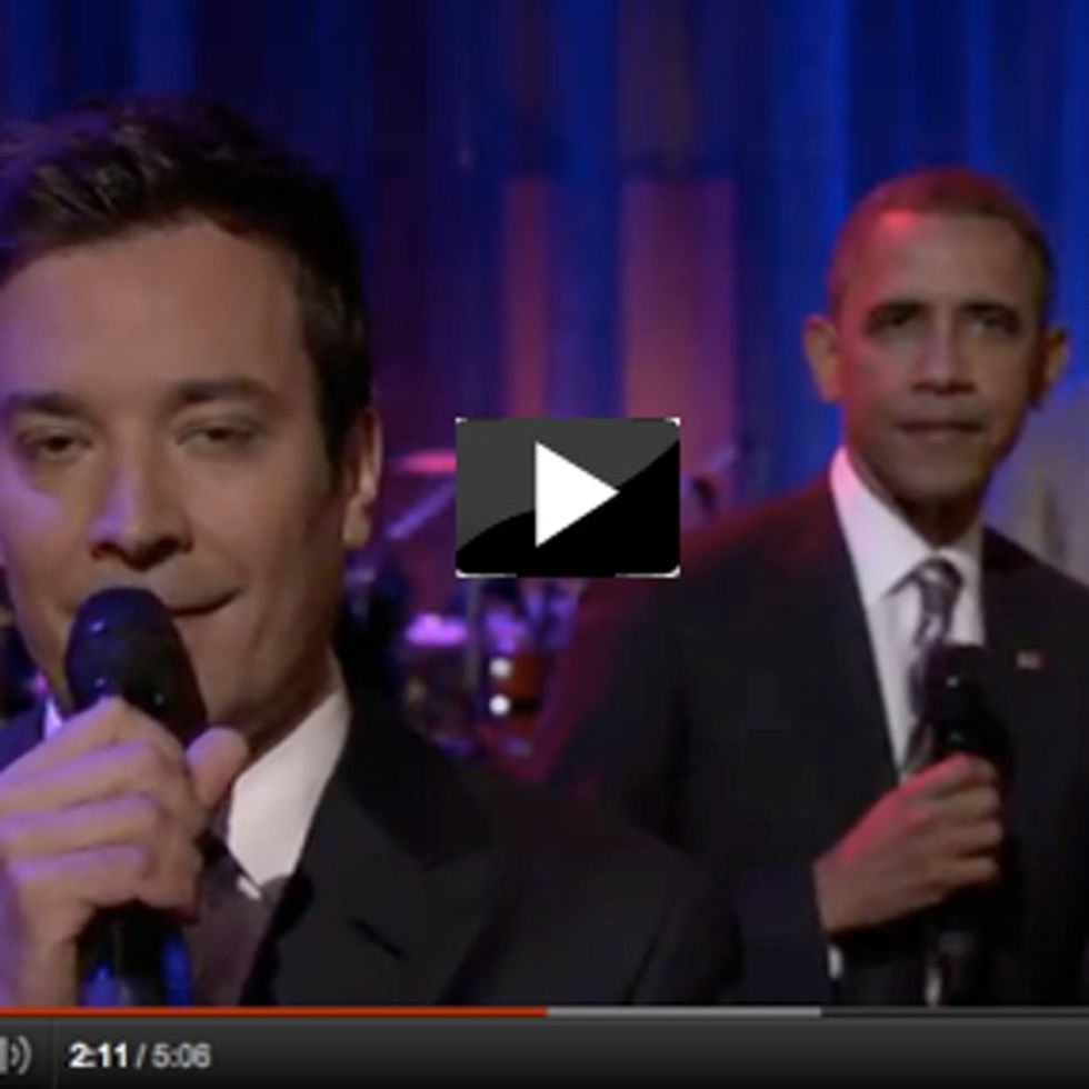 Obama, On Jimmy Fallon, Slow Jams (I Can't Believe This *Actually* Happened)