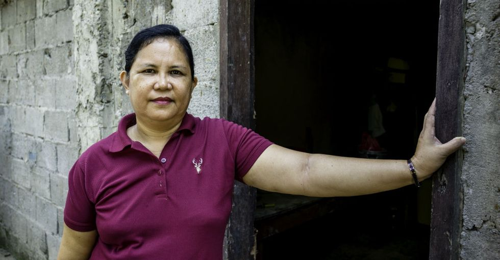 Perla's peanut recipe helped support her family. Now her story is helping others.