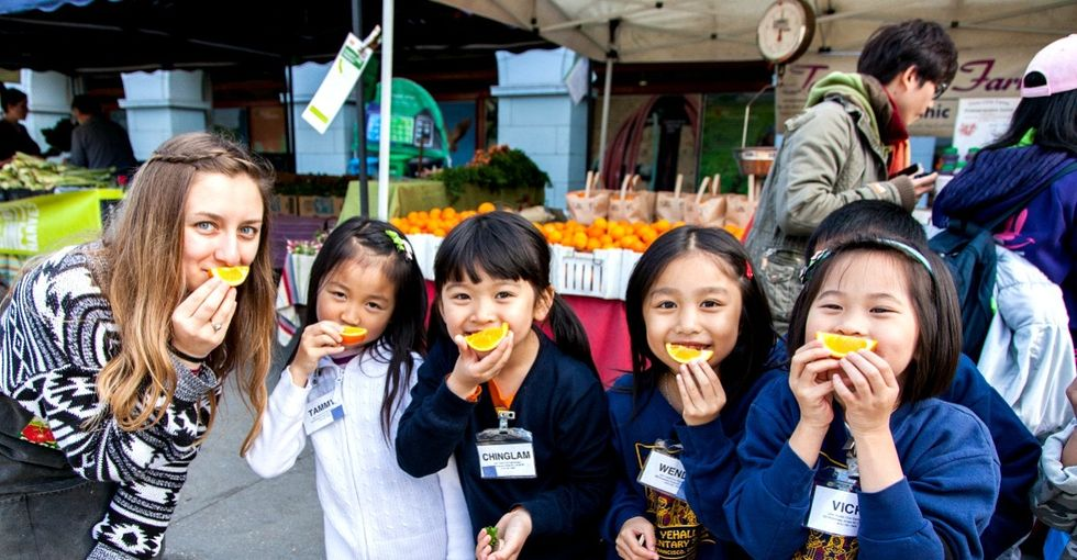 How an earthquake and a farmers market brought the San Francisco community together.
