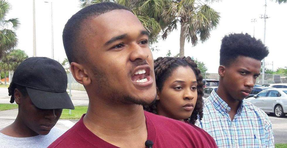 The media hasn't covered Parkland's black students. This press conference changed that.