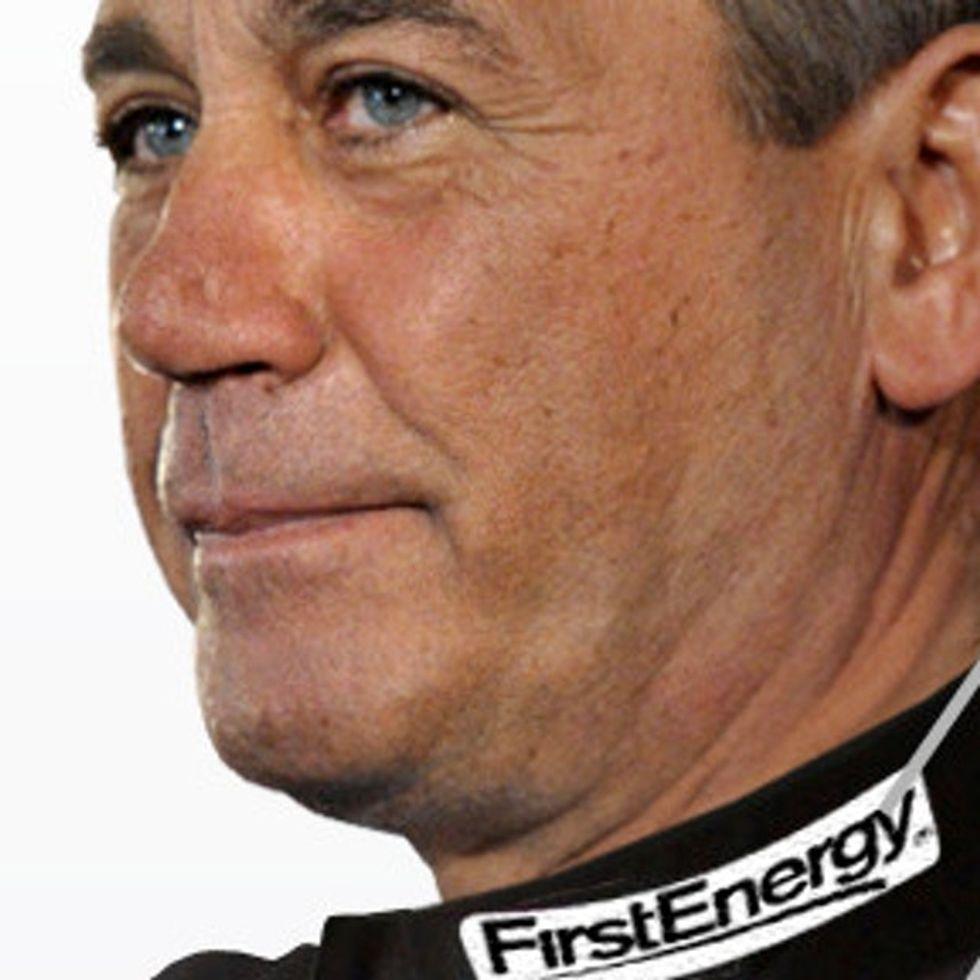 EXPOSED: GOP Speaker Of The House John Boehner. In Racing Gear. I Feel Sick.