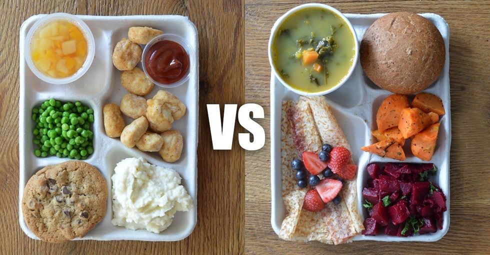 We ran a post about 8 school lunches. Here's why we took it down.