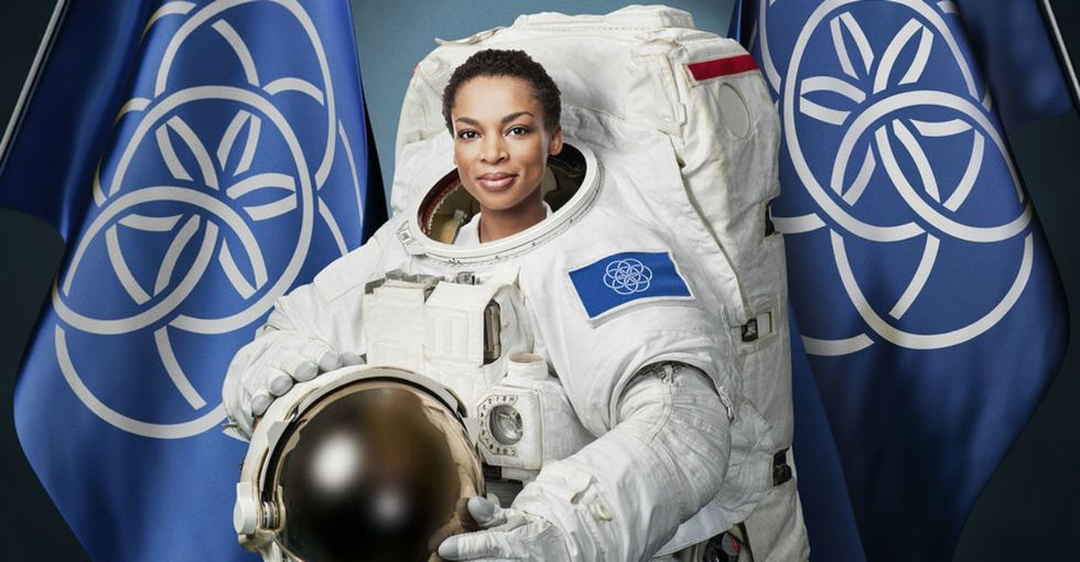 The international flag of Earth is kind of a big deal. Here's why.