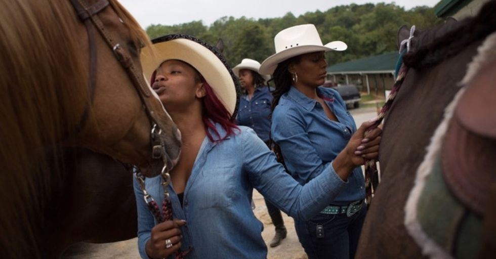 The Cowgirls of Color put a fresh spin on America's long history of black cowboys.