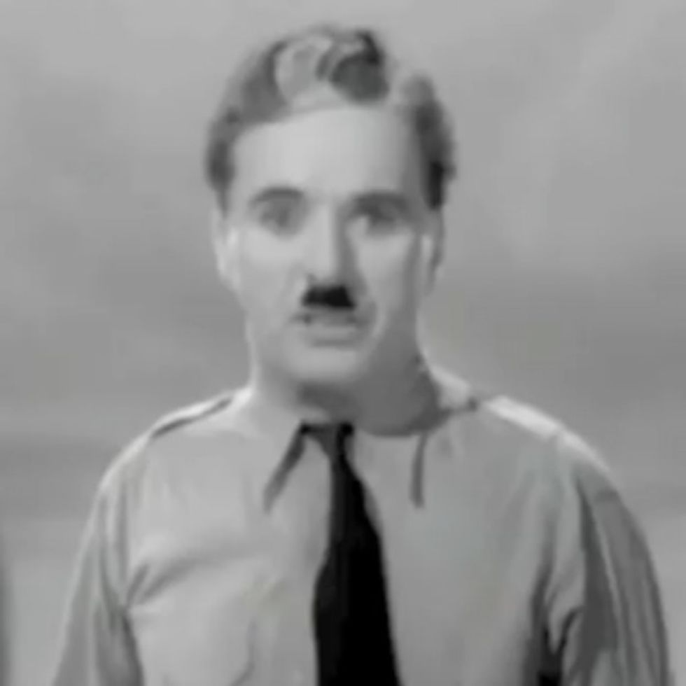 VIDEO: When Charlie Chaplin Finally Spoke Aloud, He Inspired Millions