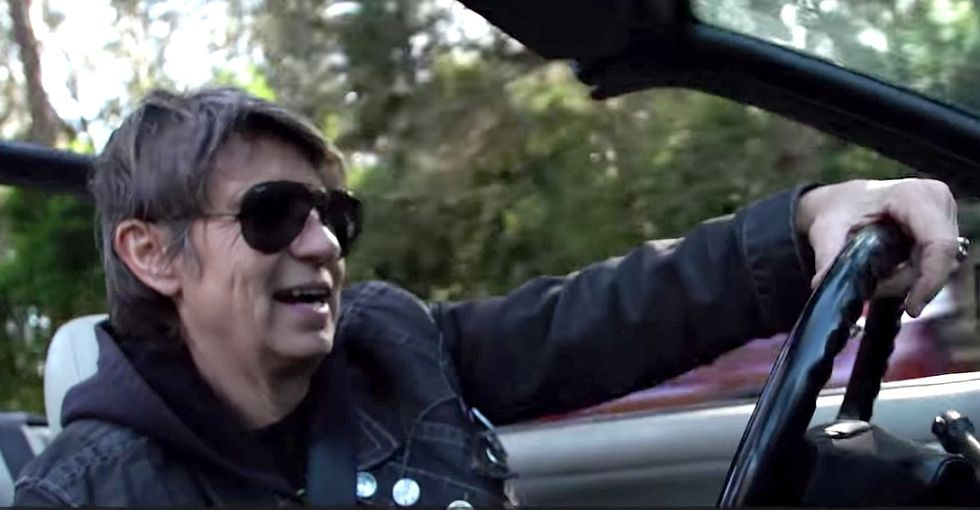 The wonderful reason this rocker's driving trans people to and from their surgeries.