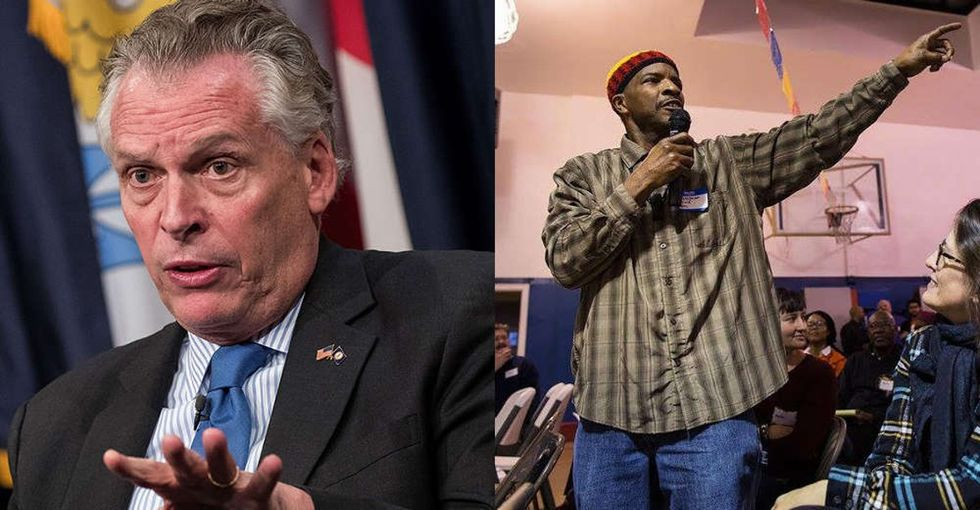 A Virginia man explains exactly what it means to get his vote back after so many years.