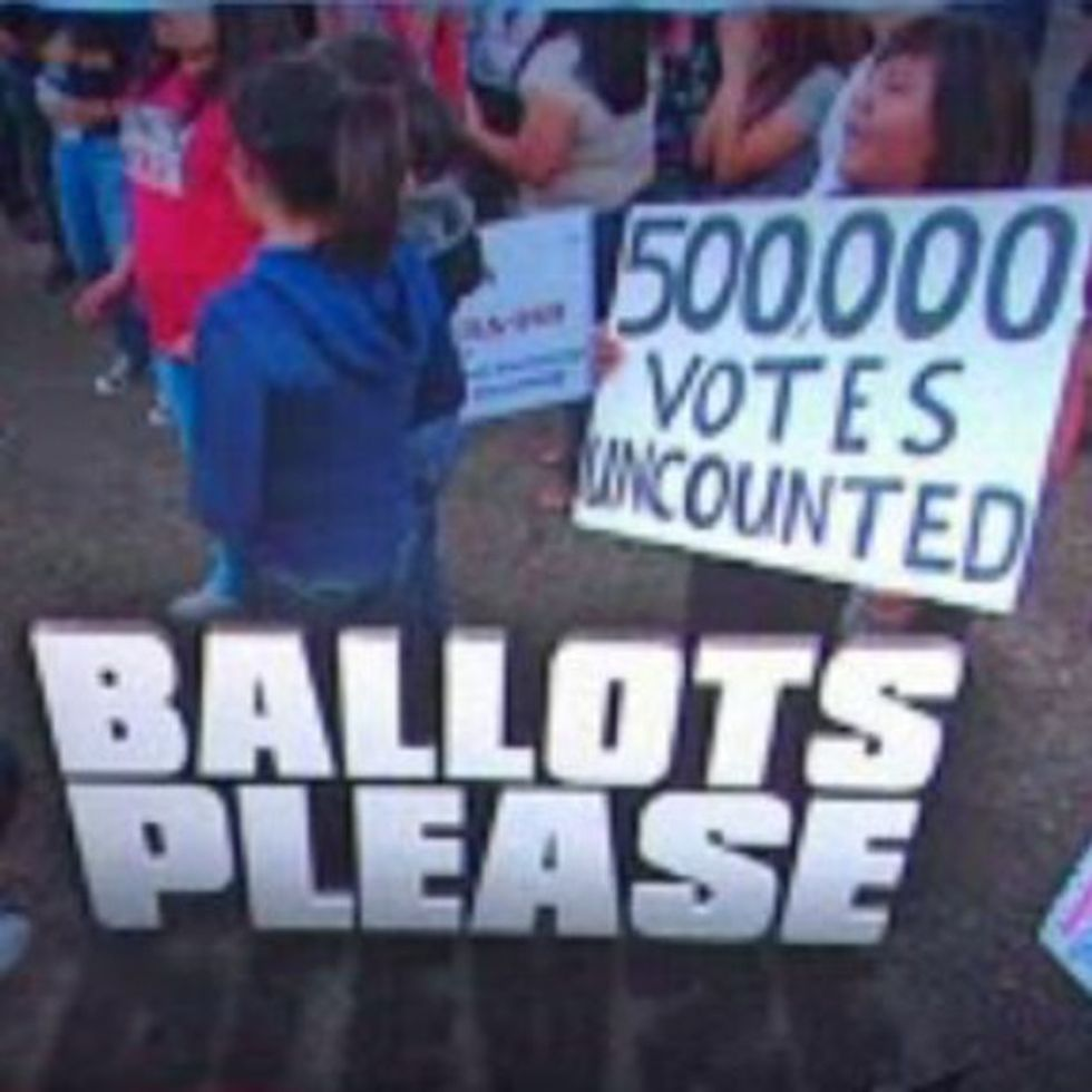 People Are Getting Mad Just Because Some State 'Forgot' To Count 500,000 Votes. Whatever.