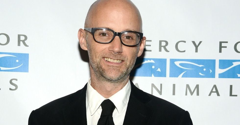 Moby is taking his love of animals to a whole other level with his restaurant.