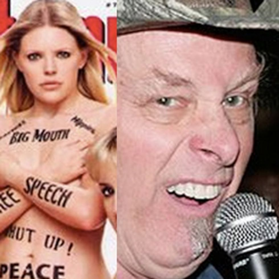 MEDIA FAIL: Why Is It OK For Ted Nugent To Say It, But Not The Dixie Chicks?!?