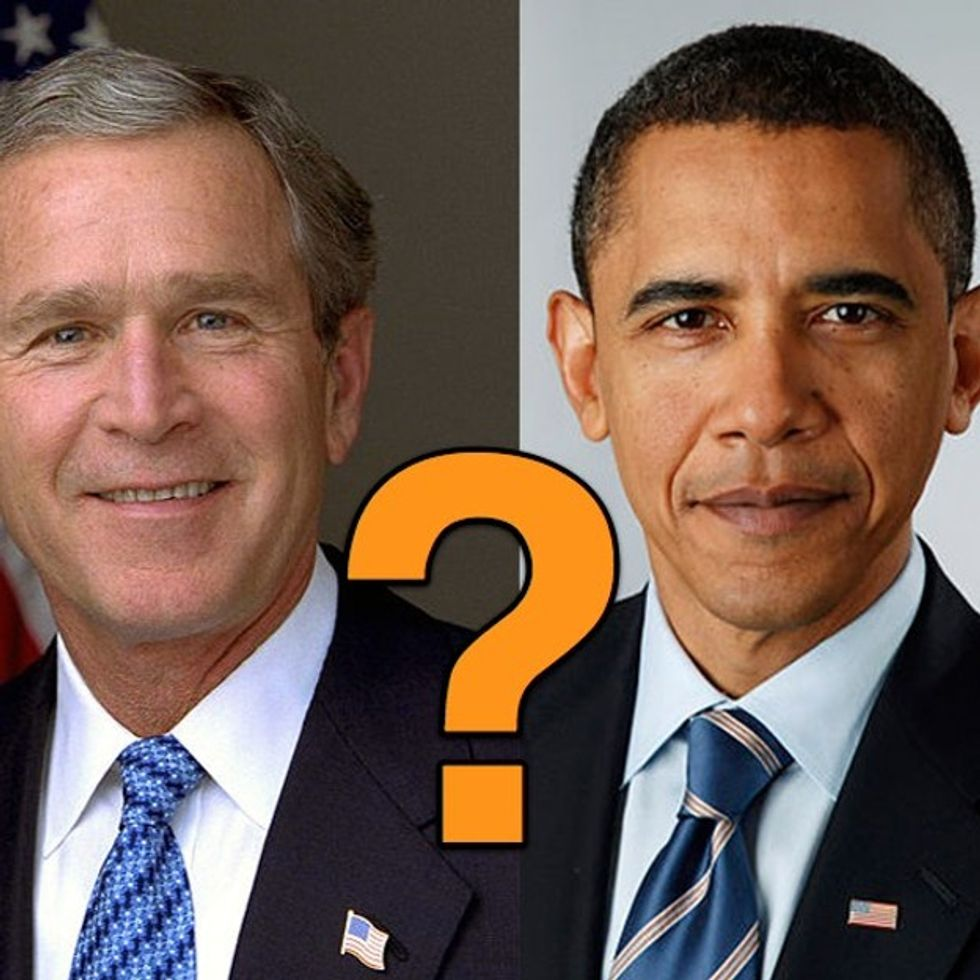What Obama And George W. Bush Have In Common