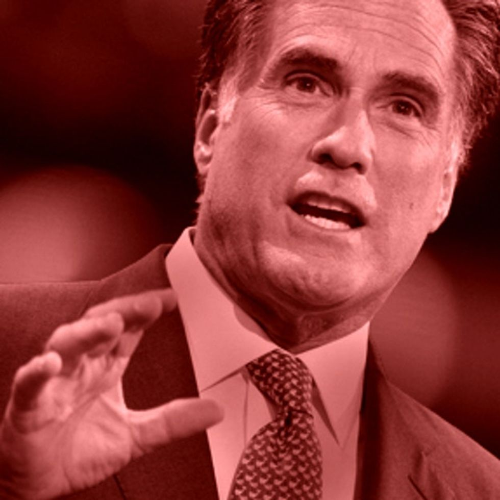 Romney's Position On Gay Marriage Makes George W. Bush Look Like A Moderate