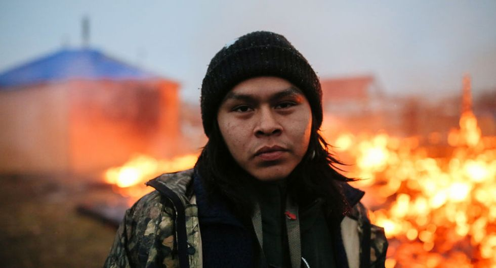 These last moments of the Standing Rock protest will break your heart.