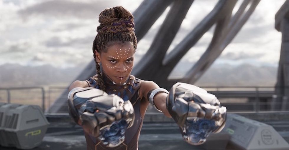 Moviegoers are praising this breakout character of 'Black Panther' for an amazing reason.