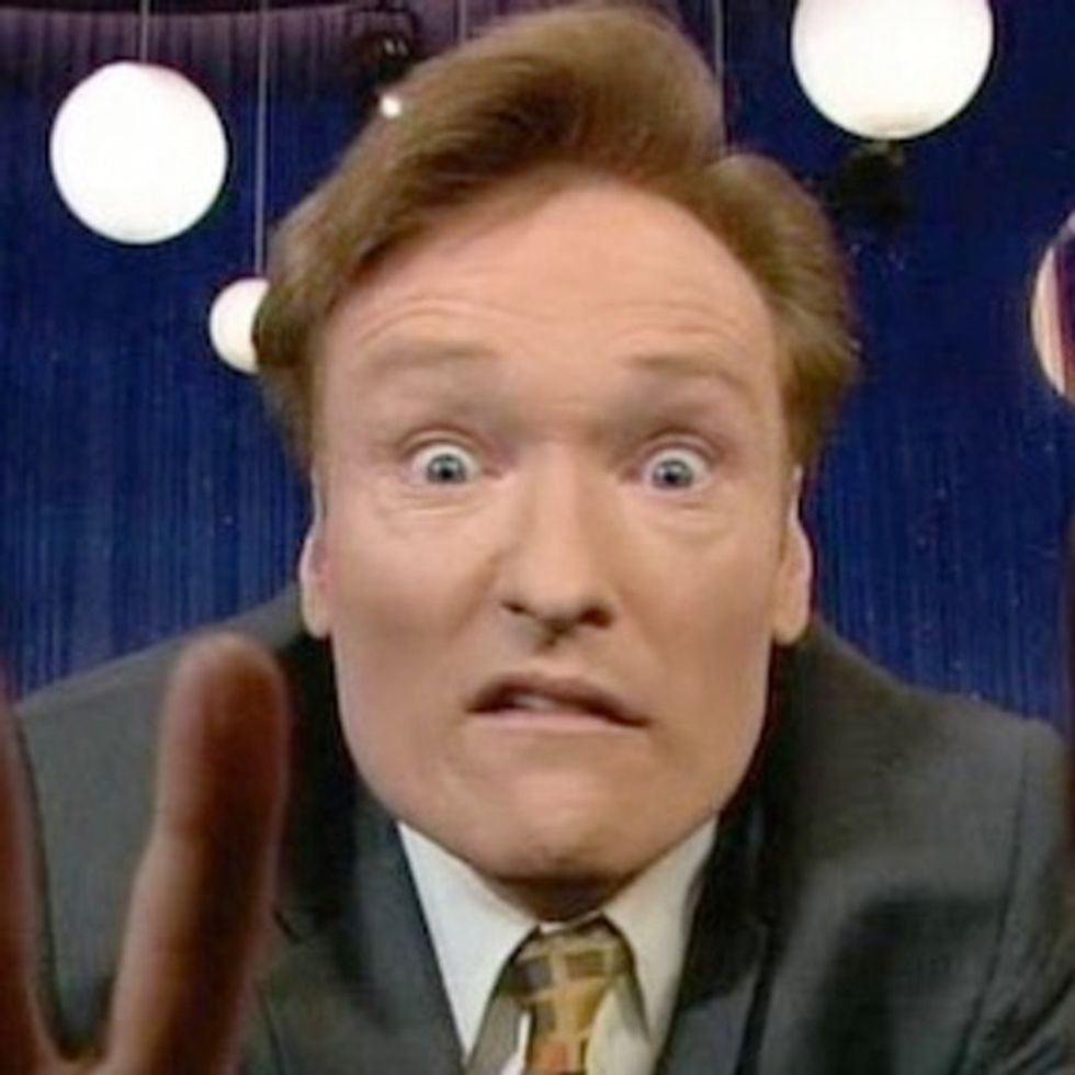 Conan O'Brien Somehow Made 100 News Anchors Say The EXACT SAME THING