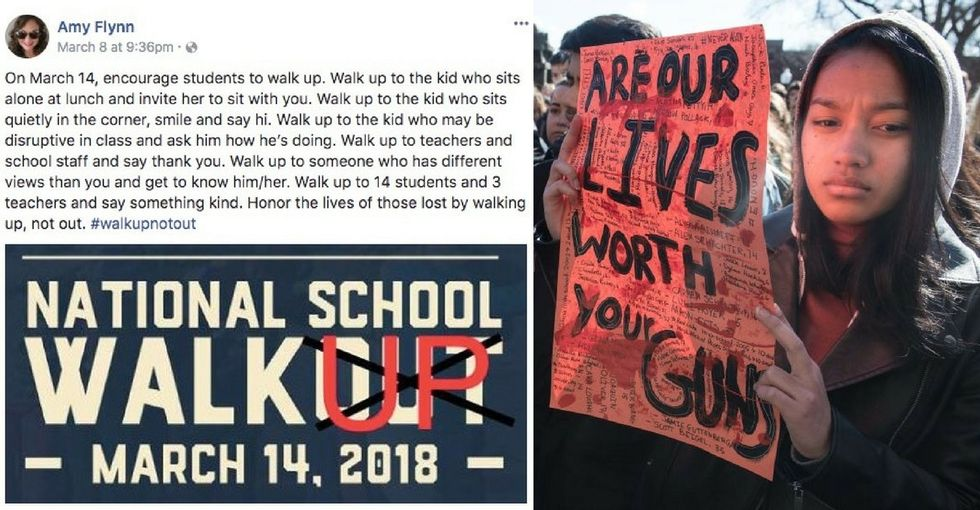Did you hear about the 'walk up' — not walkout? It's a big fail.