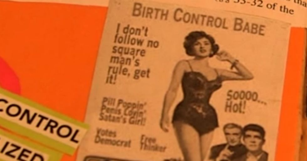 A 1-Minute Scrapbook Shows The History Of Birth Control That You Should Probably Know
