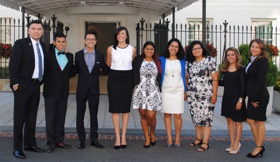 The 9 teachers who just received awards from the White House were all in the U.S. illegally.