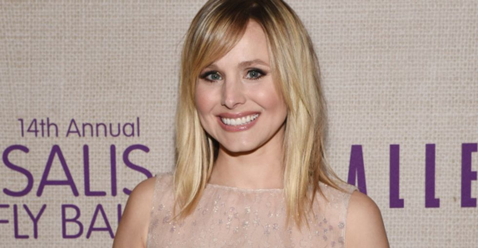 Kristen Bell called a little girl with brain cancer as Anna from 'Frozen,' and her dad taped it all.