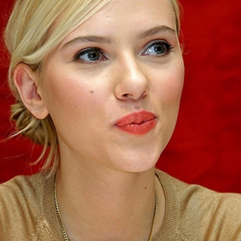 Scarlett Johansson On Superheroines (And Their Breasts)