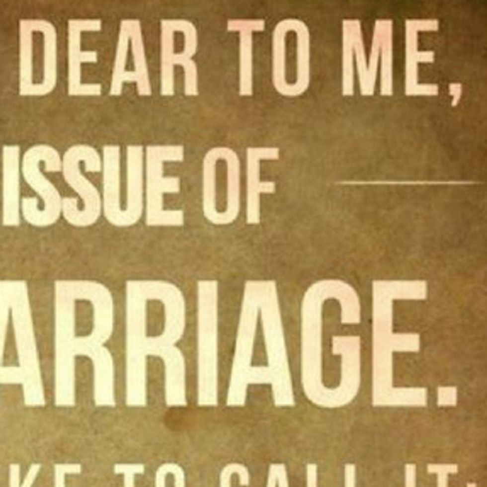Why Marriage Is Marriage And Gay Marriage Is Marriage