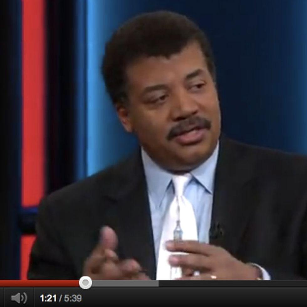 Neil deGrasse Tyson Vs. Guy-Who-Doesn't-Believe-In-Global-Warming