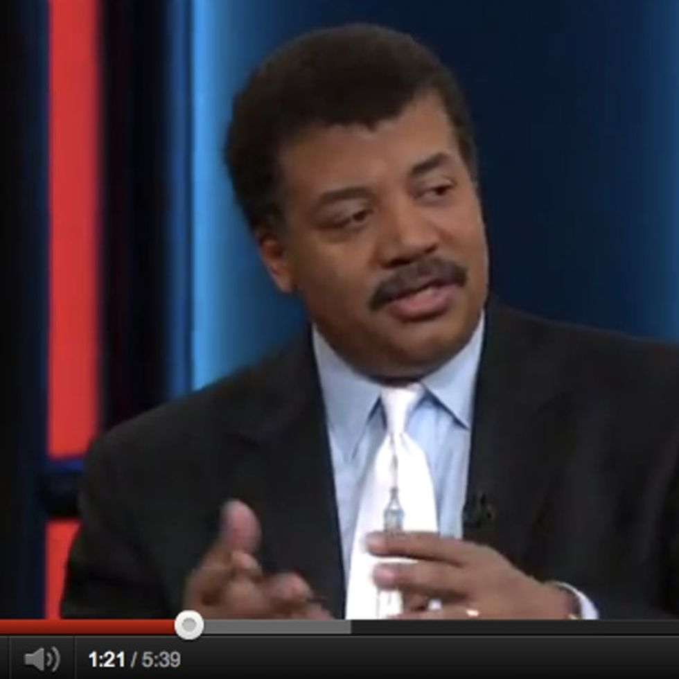 Neil deGrasse Tyson Vs. Guy-Who-Doesn't-Believe-In-Global-Warming