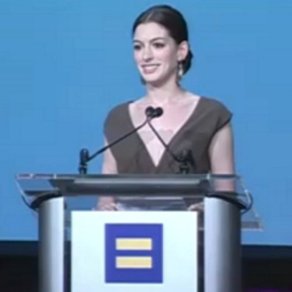 Anne Hathaway Isn't Brave, But She Is One Hell Of A Decent Human Being