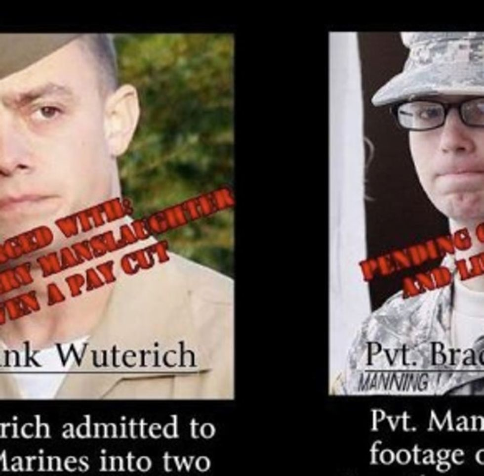 Guess Which Soldier Was Treated Like A Murderer? (Hint: It Wasn't The Murderer)