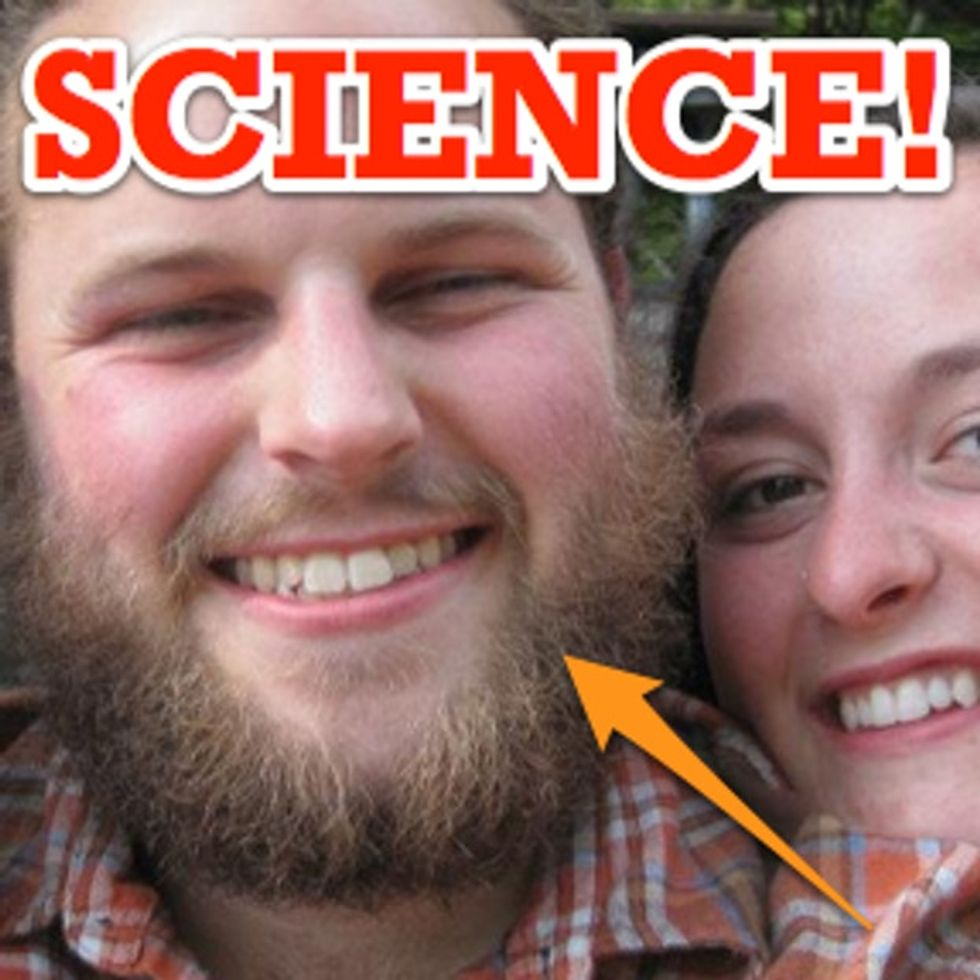 SCIENCE FACT: Facial Hair Makes You Look Less...
