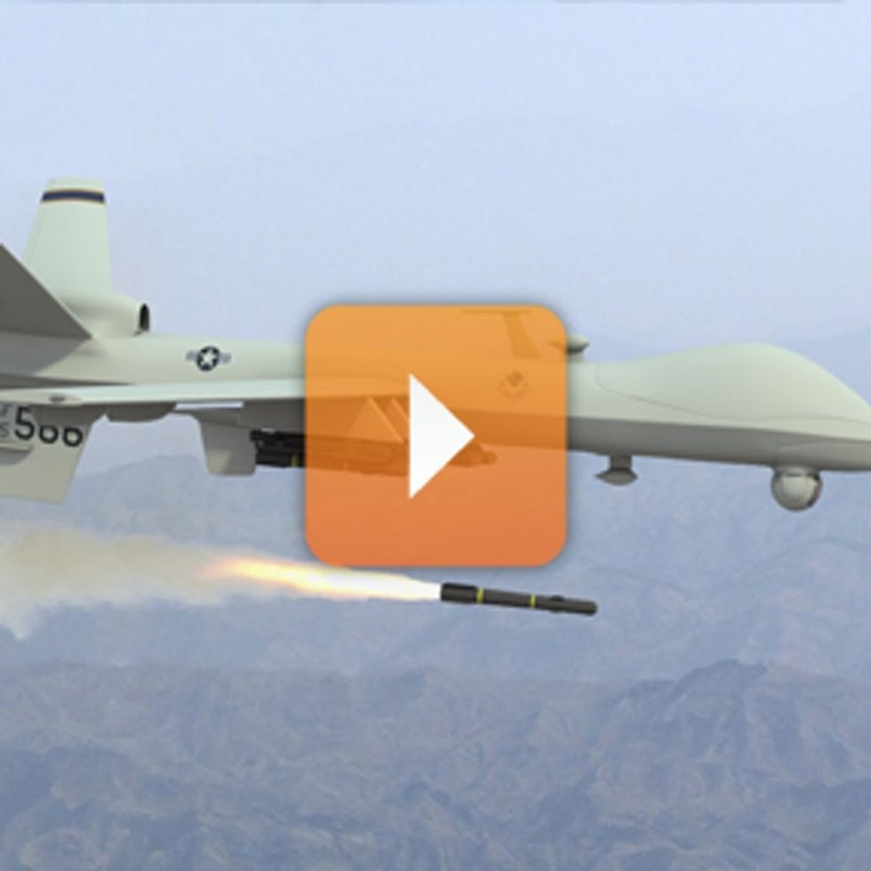 If Our Drones Are So Accurate, Why Do Their Missiles Keep Hitting Children?