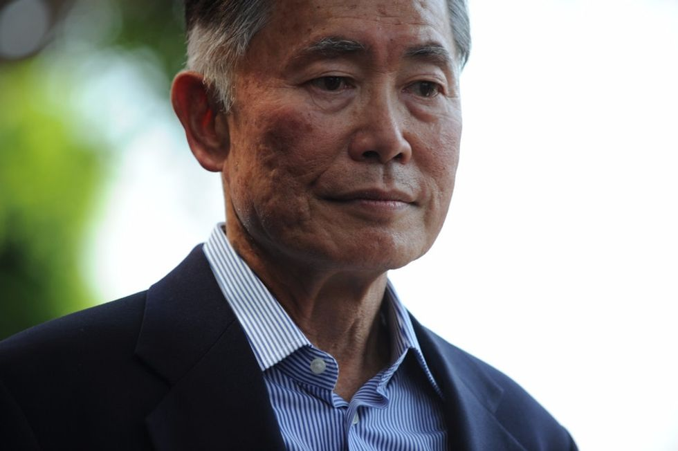 George Takei discusses why there weren't any gay characters in space in the 23rd century.