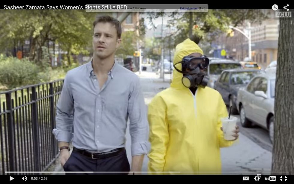 An 'SNL' comedian stars in a video that perfectly sums up why gender equality is a big deal.