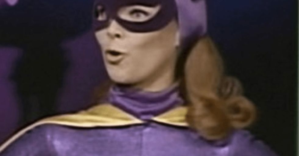 Why doesn't this vintage Batgirl PSA feel all that … vintage-y?