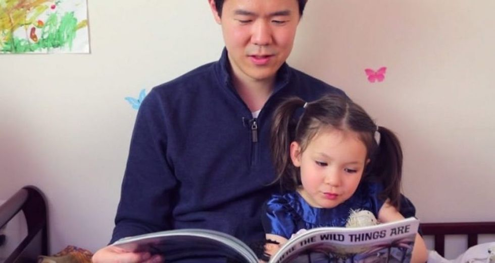 A girl said books made her wish she wasn't Chinese. So her dad wrote new ones.