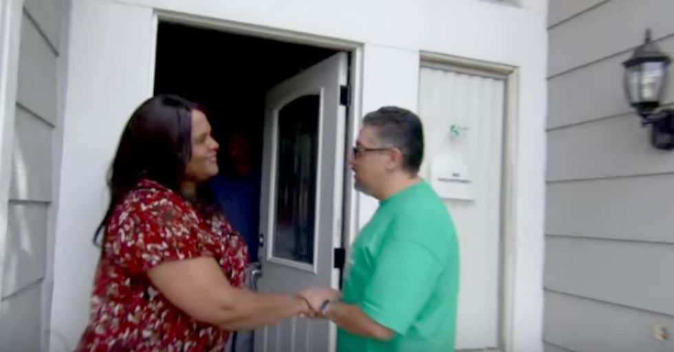 A sister who takes care of her adult brother wasn't expecting anything more than an interview.
